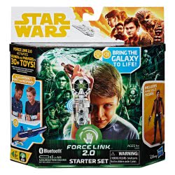 Hasbro Star Wars Star Warsu S2 Force Link 2 Starter Pack με Ηχητικά Εφέ, Φράσεις και Φιγούρα Han Solo E0322 5010993455546