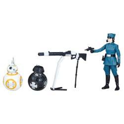 Hasbro Star Wars E8: Star Warsu S2 Rose(First Order Disguise), BB-8 Και BΒ-9E Φιγούρες Δράσης E0324 / E1322 5010993448470