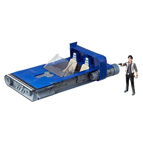 Hasbro Star Wars E8: Star Warsu Zeus Chariot Όχημα και Φιγούρα Han Solo E0326 / E1263 5010993452927