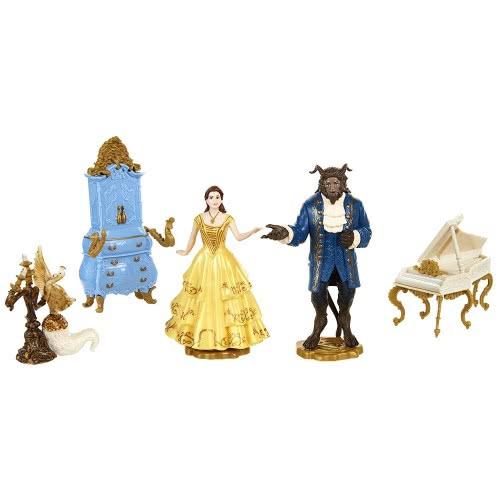 JAKKS PACIFIC Disney Πεντάμορφη και το Τέρας Σετ 2 Φιγούρες με Αξεσουάρ 45535 039897455358