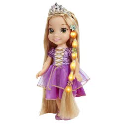 JAKKS PACIFIC Doll Glow N Style Disney Princess Rapunzel 46816 039897468167