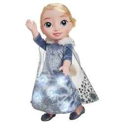 JAKKS PACIFIC Disney Frozen Κούκλα Έλσα Singing Traditions 46818 039897468181