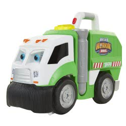 JAKKS PACIFIC Real Working Buddies Mr. Dusty The Super Duper Απορριματοφόρο 58385 039897583853