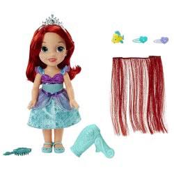 JAKKS PACIFIC Κούκλα Disney Style Me Princess Άριελ 86819 / 86820 678352868205