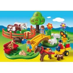 Playmobil 1.2.3 Τα Αγαπημένα μας Ζωάκια 6770 4008789067708