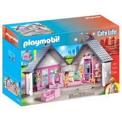 Playmobil Βαλιτσάκι Κατάστημα Ρούχων 9113 4008789091130