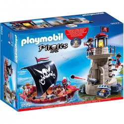 Playmobil Pirate Ship and Light House 9522 4008789095220