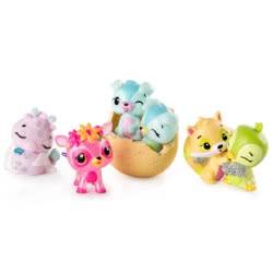 GIOCHI PREZIOSI Hatchimals Colleggtibles Season 3 - 4 eggs and 1 Mini Figure Bonus HAT05000 8056379060376