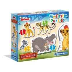 Clementoni Puzzle 3-6-9-12pc My First Puzzle: Lion Guard 20801 8005125208012