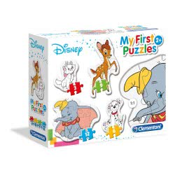 Clementoni Puzzle 3-6-9-12Pc My First Puzzle: Animal Friends 20806 8005125208067