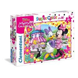 Clementoni Παζλ 24τεμ. Maxi Super Color Minnie Happy Helper 24480 8005125244805