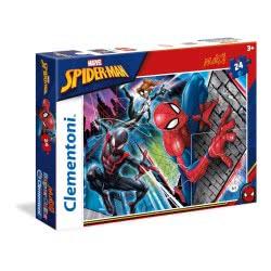 Clementoni Παζλ 24τεμ. Maxi Super Color Σπάιντερμαν 24497 8005125244973