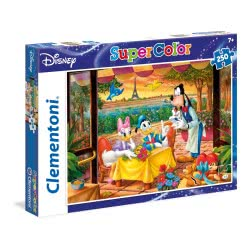 Clementoni Παζλ 250Τμχ Super Color Disney Classic 29051 8005125290512