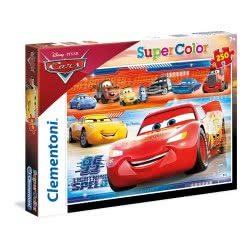 Clementoni Puzzle 250τμχ Super Color Cars 3 Lightning Speed 29052 8005125290529