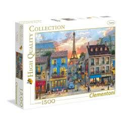 Clementoni Παζλ 1500τεμ. High Quality Collection Δρόμος στο Παρίσι 31679 8005125316793
