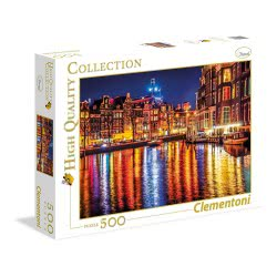 Clementoni Puzzle 500pc High Quality Collection Amsterdam 35037 8005125350377