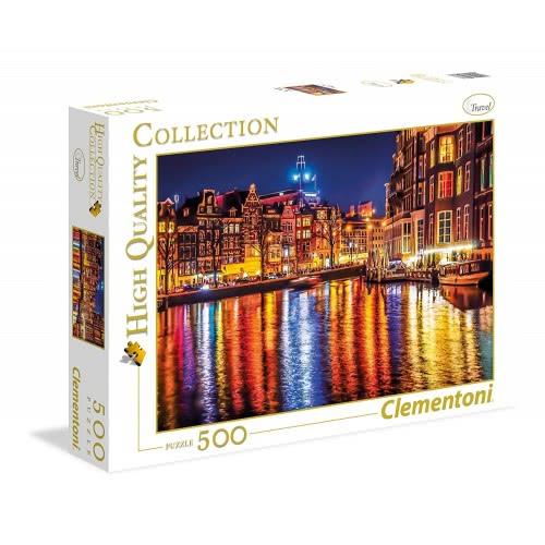 Clementoni Παζλ 500τεμ. High Quality Collection Άμστερνταμ 35037 8005125350377