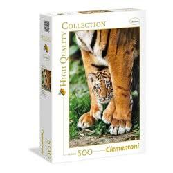 Clementoni Παζλ 500τεμ. High Quality Collection Τίγρη Βεγγάλης και Τιγράκι 35046 8005125350469