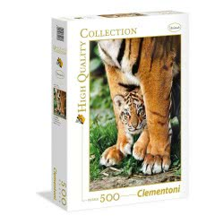 Clementoni Puzzle 500pc High Quality Collection Bengar Tigers 35046 8005125350469