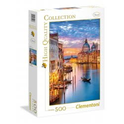 Clementoni Puzzle 500pc High Quality Collection Lighting Venice 35056 8005125350568