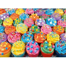Clementoni Παζλ 500τεμ. High Quality Collection Πολύχρωμα Cupcakes 35057 8005125350575