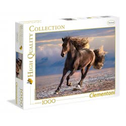 Clementoni Puzzle 1000pc High Quality Collection Free Horse 39420 8005125394203