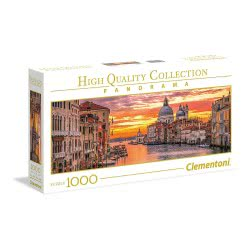 Clementoni Puzzle 1000pc High Quality Collection Panorama The Grand Canal - Venice 39426 8005125394265