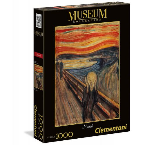 Clementoni Puzzle 1000pc. Museum Collection Munch - The Scream 39377 8005125393770
