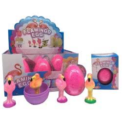 Fun Trading Flamingo Egg 11Cm 10104750 4260059599412