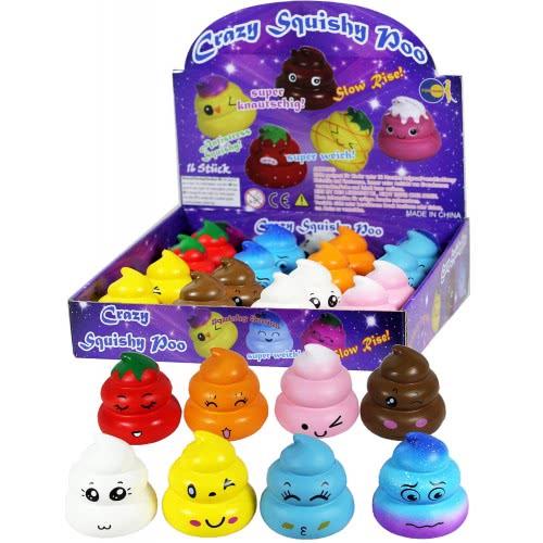 Fun Trading Φιγούρες Poo Antistress Squishy Crazy - 8 Σχέδια 10104748 4260059599399