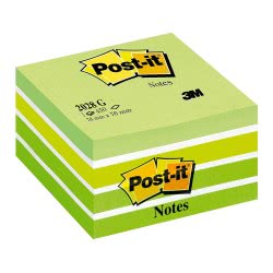 3M Post-It Notes Pastel Green 76x76, 450 Sheets 076202802 4001895872808