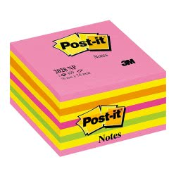 3M Post-It Notes Αυτοκόλλητα Σημειώσεων Neon Χρώματα 76x76, 450φ 076202803 4001895871368