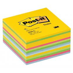 3M Post-It Notes Ultra Colors 76x76, 450 Sheets 076203001 4046719274116