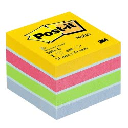 3M Post-It Notes Ultra Colors 51x51, 400 Sheets 076205102 4046719532650