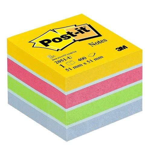 3M Post-It Notes Αυτοκόλλητα Σημειώσεων Ultra Αποχρώσεις 51x51, 400φ 076205102 4046719532650
