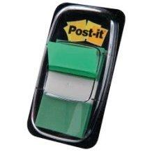 3M Σελιδοδείκτες 3Μ Post-it 25x43εκ Χρώμα Πράσινο 50Φύλλα 076680003 021200707537