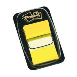 3M Σελιδοδείκτες 3Μ Post-it 25x43εκ Χρώμα Κίτρινο 50Φύλλα 076680005 021200707551