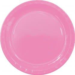 PROCOS Decorata Πιάτα Μεγάλα Party Μονόχρωμα Φούξια 23 εκ. - 8τμχ 089502 5201184895023