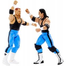 Mattel WWE Battle Pack Bret Hart and Jim Neidhart 2 Φιγούρες P9579 / FCV89 887961460599