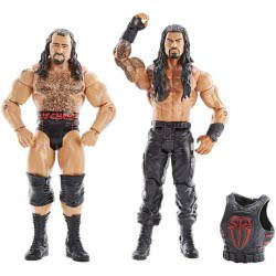 Mattel WWE Battle Pack Roman Reigne VS Rusev 2 Figures P9579 / DXG39 887961395914