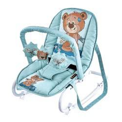 Lorelli Ρηλάξ/Κούνια Baby Rocker Top Relax Cute Bear, Πράσινο 1011002 1811 3800151963639