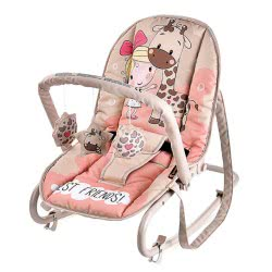 Lorelli Baby Rocker Top Relax Best Friends, Pink 1011002 1825 3800151963660
