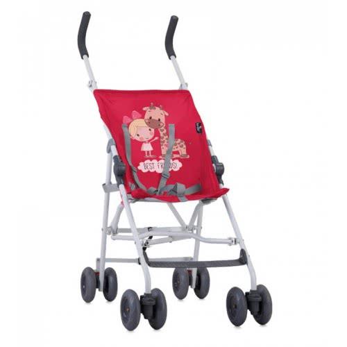 Lorelli Baby Stroller Flash Best Friends, Red 1002043 1835 3800151905042