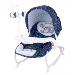 Lorelli Baby Rocker Dream Time Best Friends, Dark Blue 1011006 1712 3800151957553