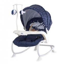 Lorelli Ρηλάξ/Κούνια Dream Time Good Night Bear, Μπλε 1011006 1804 3800151965169