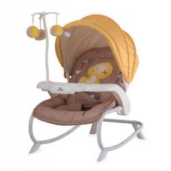 Lorelli Ρηλάξ/Κούνια Dream Time My Baby, Μπεζ-Κίτρινο 1011006 1809 3800151965176