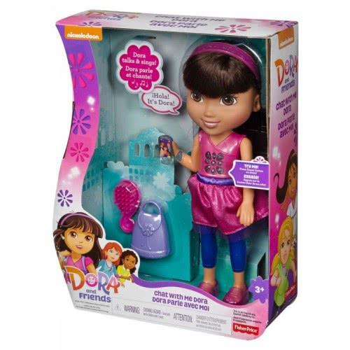 Mattel Dora - Speaks Greek and English DKP30 887961246193