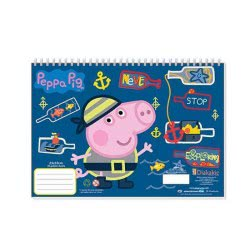 Diakakis imports Peppa Pig Μπλοκ Ζωγραφικής 23x33 40 Φύλλα 000482245 5205698258022