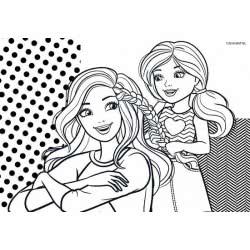 Diakakis imports Barbie Μπλοκ Ζωγραφικής 23x33 40 Φύλλα 000570173 5205698258077