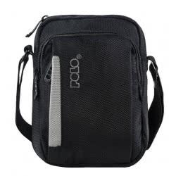POLO Τσαντάκι X-Case Small Χρώμα Μαύρο/Γκρι 907111-02-00 5201927089764